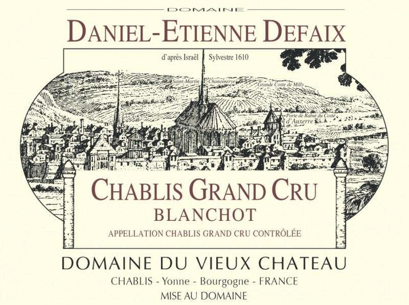Chablis Grand Cru Blanchot 2006 - caisse de 6 bouteilles