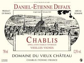 Chablis Vieilles Vignes 2012 - Caisse de 6 bouteilles