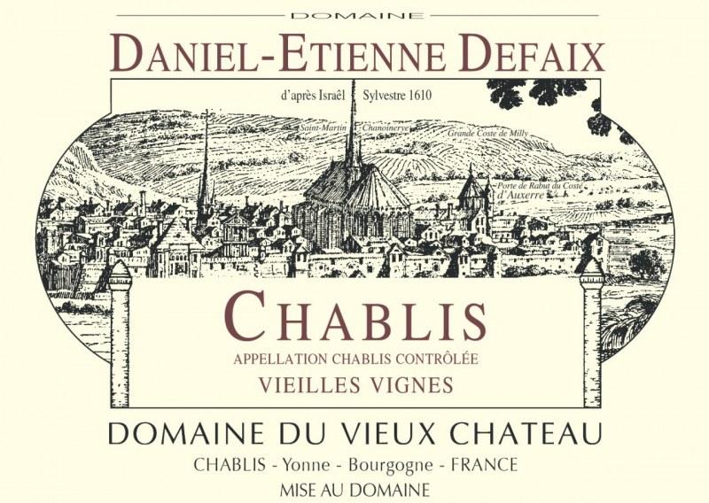 Chablis Vieilles Vignes 2012- Caisse de 12 demi-bouteilles