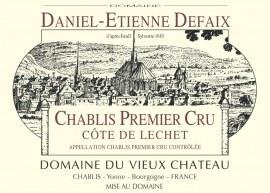 Chablis 1er Cru Côte de Léchet 2003 - Caisse de 6 bouteilles