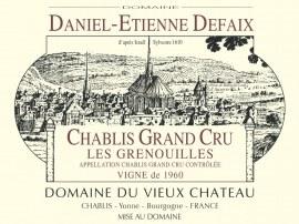 Chablis Grand Cru Grenouilles 2007 - Caisse de 6 bouteilles