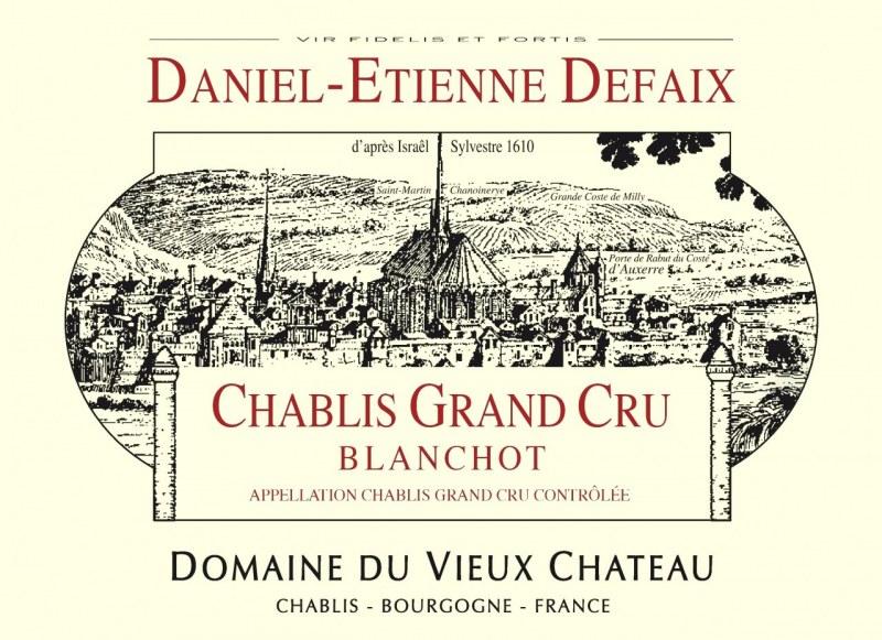 Chablis Grand Cru Blanchot 2007 - caisse de 6 bouteilles