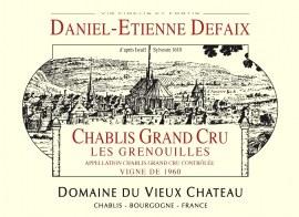 Chablis Grand Cru Grenouilles 2008 - Caisse de 6 bouteilles
