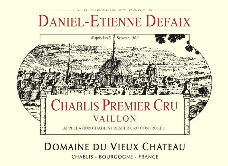 Chablis 1er Cru Vaillon 2003 - Caisse de 6 bouteilles