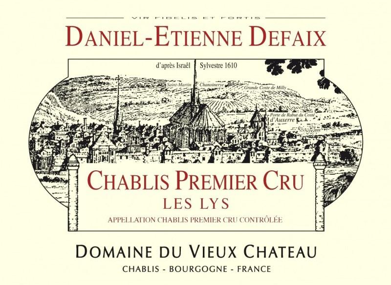 Chablis Premier Cru Les Lys 2005 - Caisse de 6 bouteilles