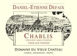 Chablis Vieilles Vignes 2016 - Caisse de 6 bouteilles