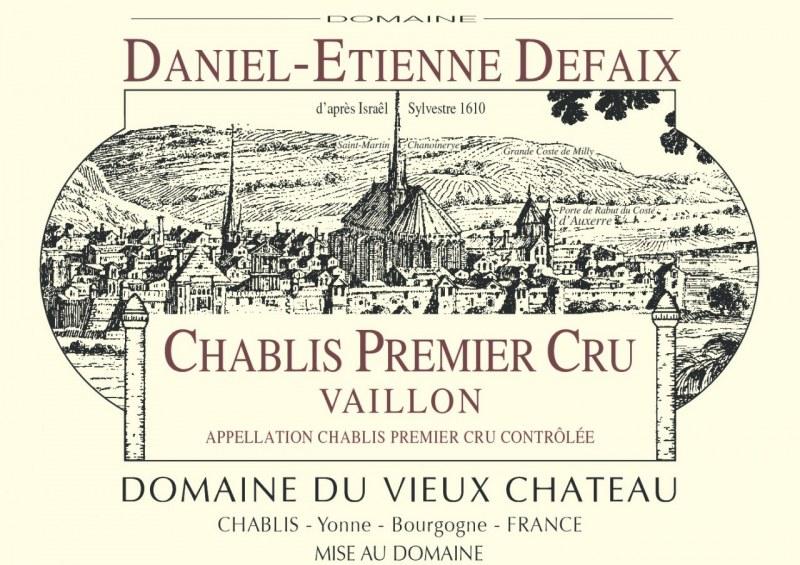 Chablis 1er Cru Vaillon 1983 - Caisse de 6 bouteilles