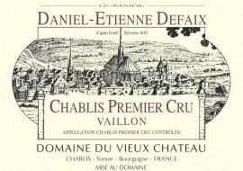 Chablis 1er Cru Vaillon 2003 - Caisse de 12 demi-bouteilles